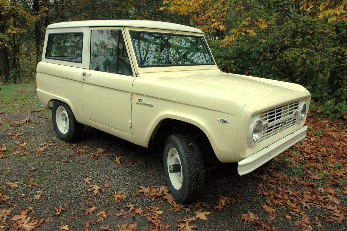 1966 ford bronco long roof wagon for sale
