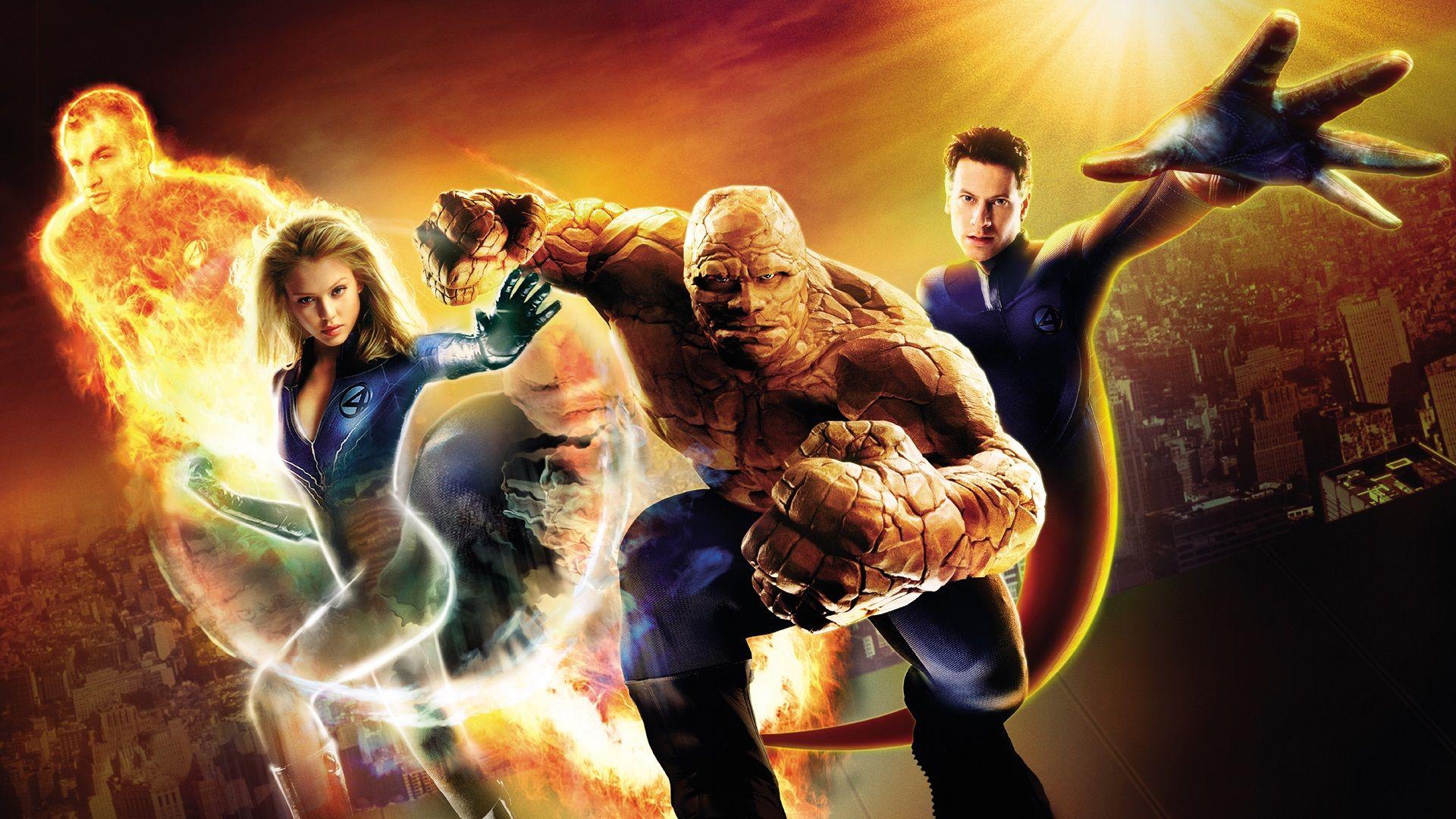 Movie Fantastic Four Thing Jessica Alba Hd Wallpaper Background Image In 2020 Captain America Wallpaper Black Cat Marvel Beast Marvel