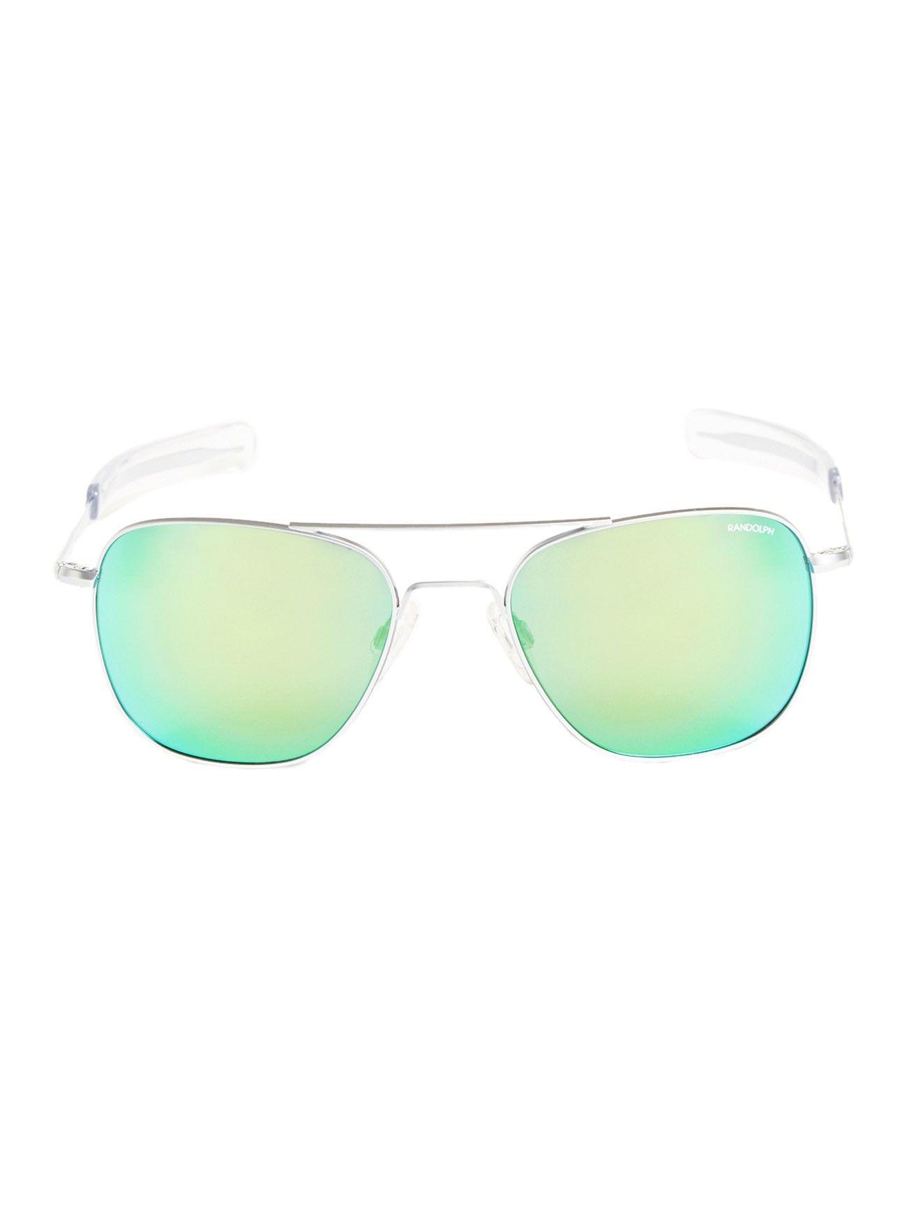 8666a68272 Randolph Engineering Bayonet Polarized Aviators - Green Flash - These Bayonet  sunglasses from Randolph Engineering feature
