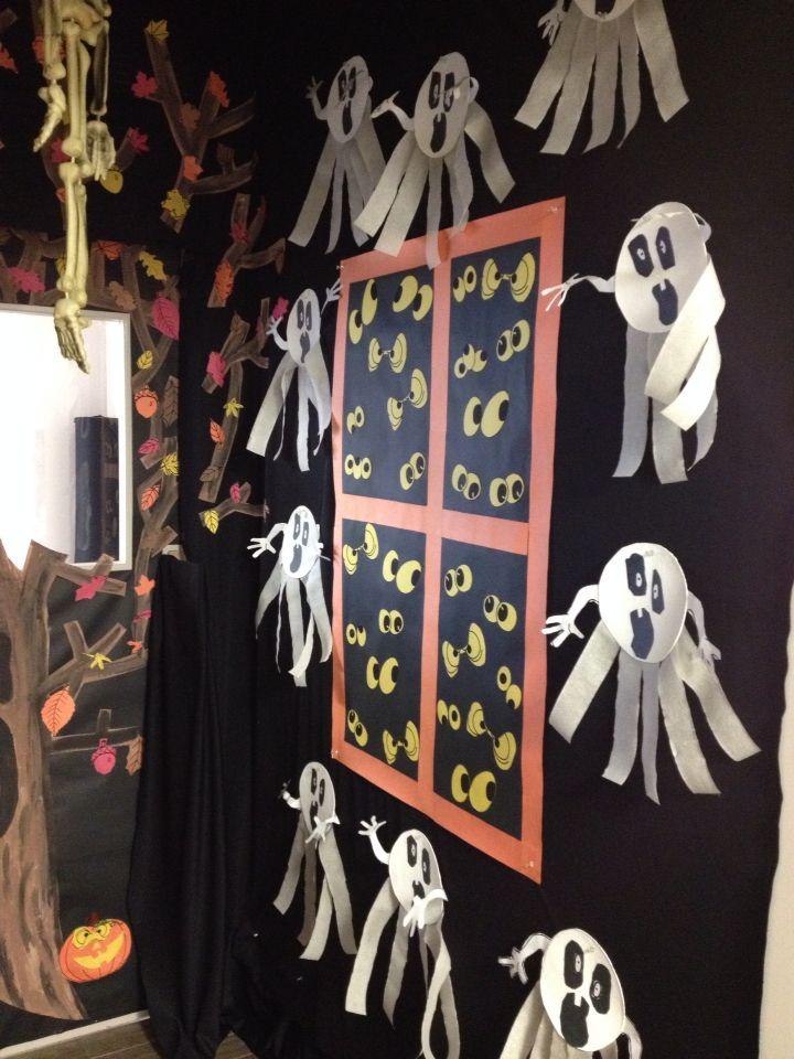 Haunted house ghost ideas for preschool