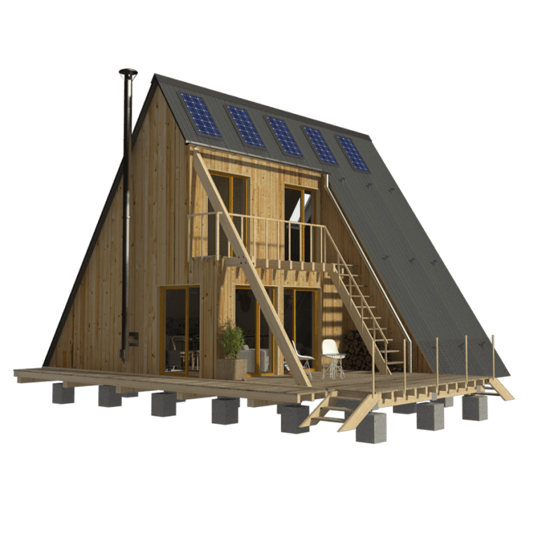 A Frame Home Plans Emma Wooden House Plans Flat Roof House