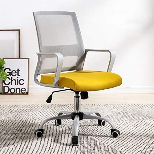 Yellow Wingback Chair - Transitional - den/library/office ...