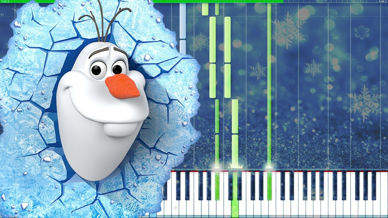 Do You Want to Build a Snowman? - Frozen [Piano Tutorial] (Synthesia) //...