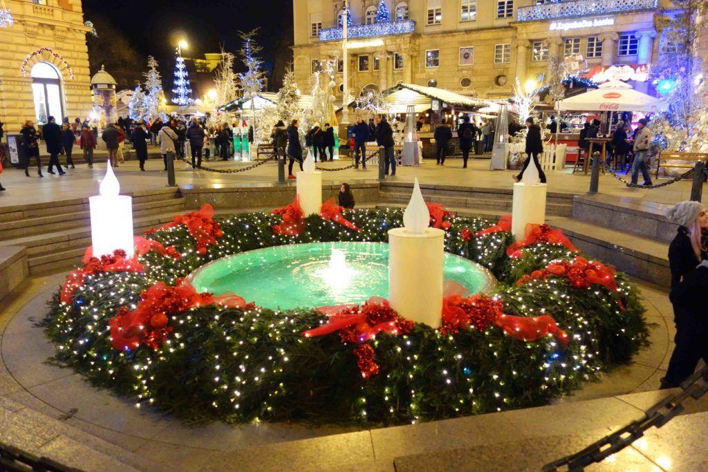 Advent In Zagreb 2017 Ein Fest Der Liebe Weihnachtsmarkte Kroatien Fest Der Liebe Zagreb Kroatien