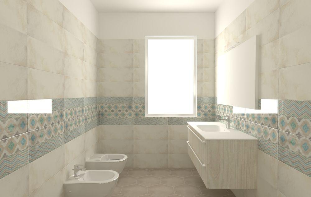 Villeroy Boch Piastrelle.Pastel Color Bathroom Design By Renato Carere With Tiles