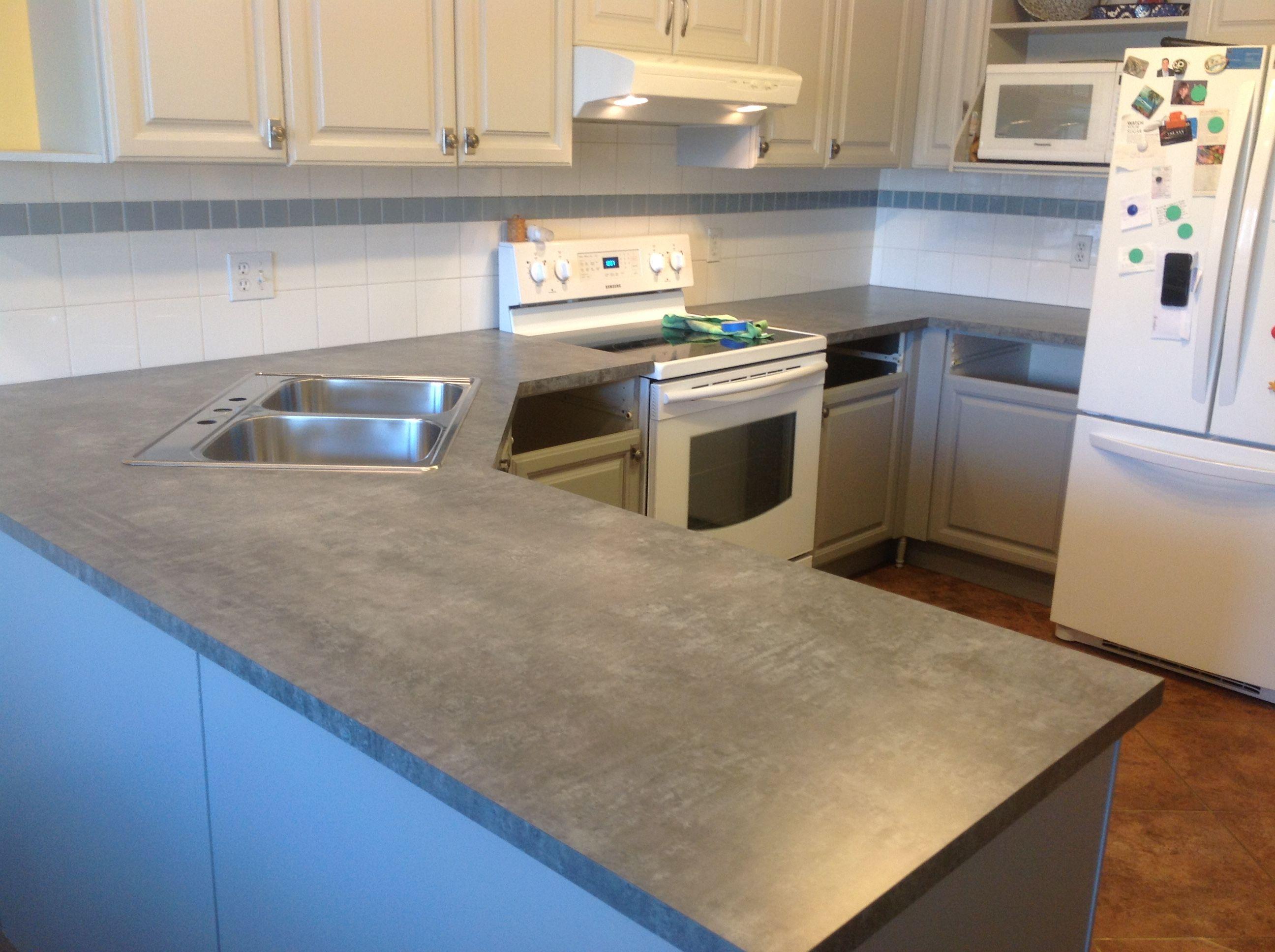 Formica Elemental Blue Steel Formica Countertops Kitchen
