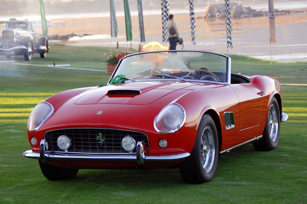 1961 Ferrari 250 GT California Ferrari vintage, Ferrari