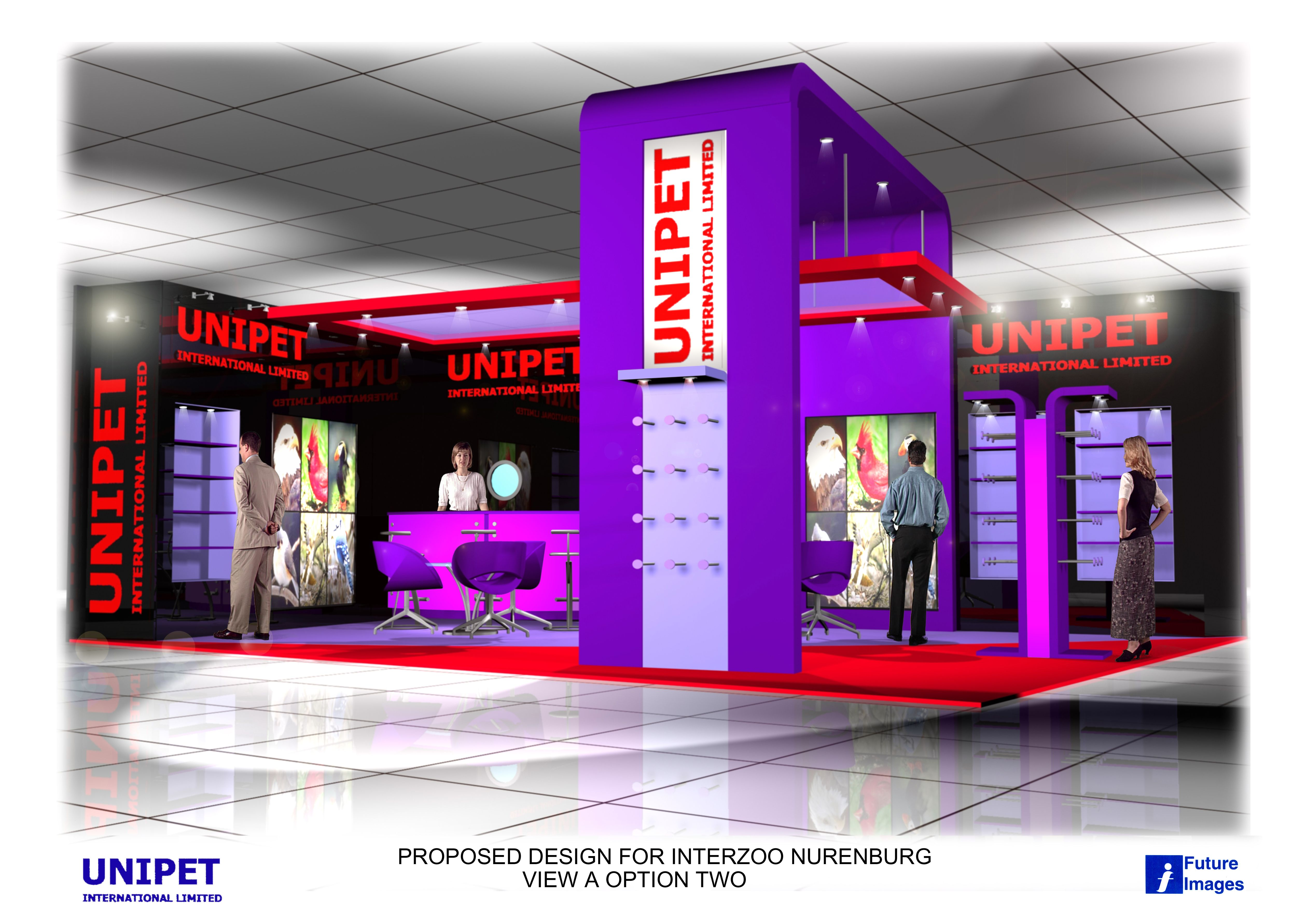 UNIPET Stand example
