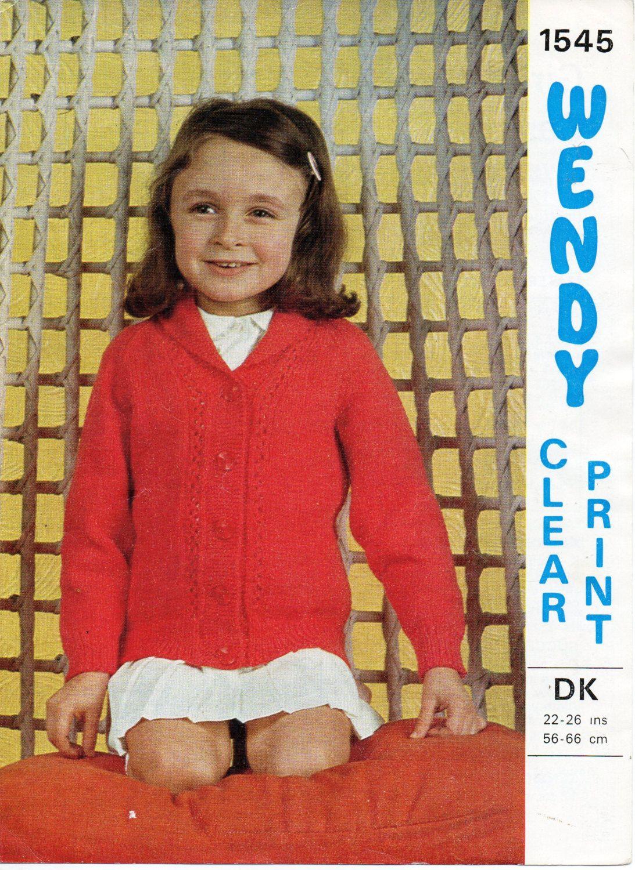 baby toddler childrens cardigan knitting pattern pdf shawl collar ...