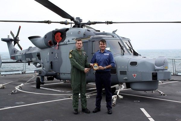 Mar 18, 2014.An AugustaWestland AW159 Wildcat,Royal Navy's next-generation helicopter,landed for 1st time on flight deck of Type 45 destroyer at sea.Wildcat,maritime attack variant of Lynx,currently undergoing extensive trials with 700W Naval Air Squadron.As part of trials,has been working at MOD's aerial range in Cardigan Bay.From next year,Wildcat will begin to replace Lynx Mk 8 as RN frigate & destroyer support helicopter.