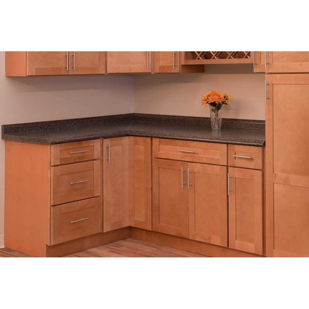 Backsplash For Kitchen With Honey Oak Cabinets Google Search Maple Kitchen Cabinets Used Kitchen Cabinets Shaker Kitchen Cabinets