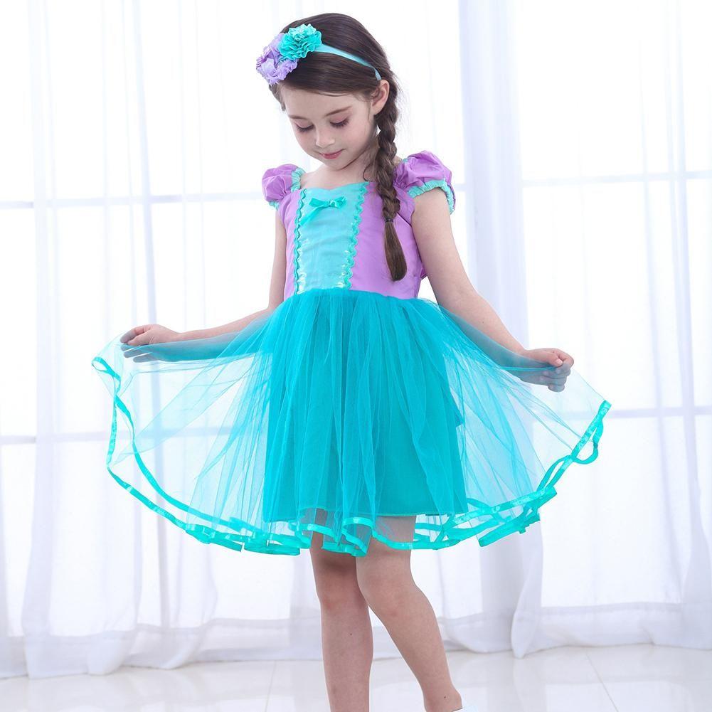 Baby girls princess costume party dress princess costume