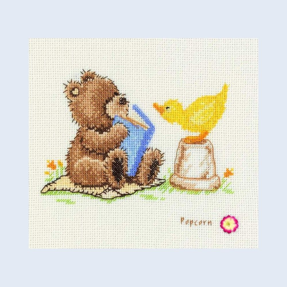 Once Upon a Time... - Popcorn - counted cross stitch kit