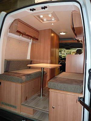 Camperizando ford transit t260 semielevada campers for Interieur camping car