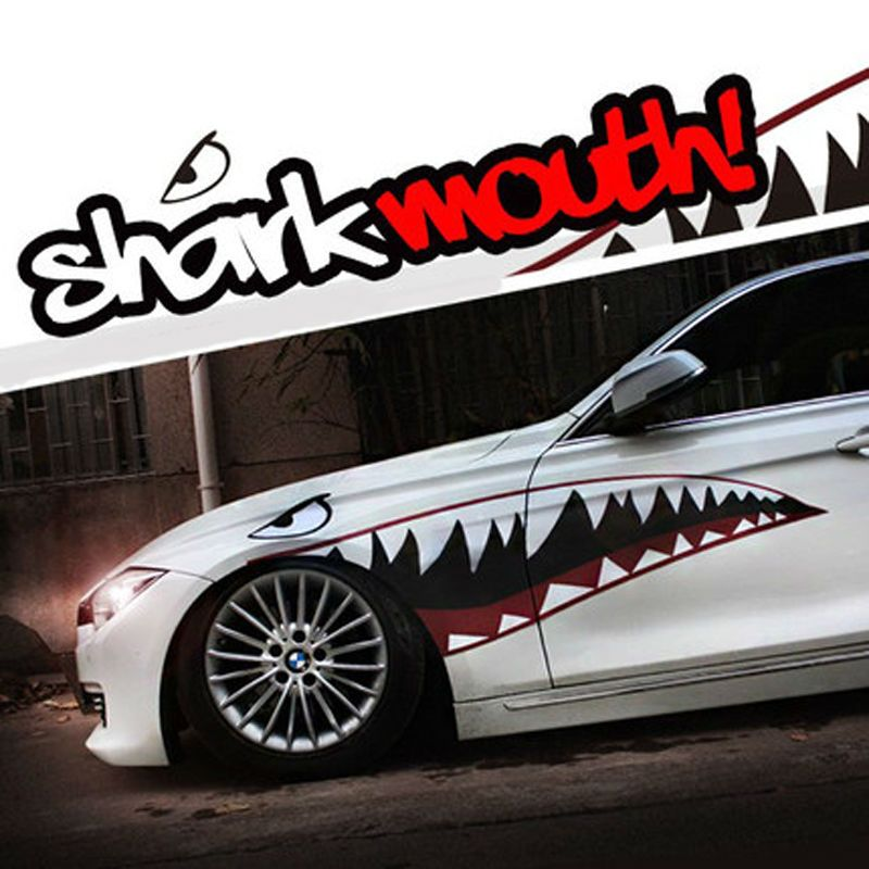 Free Shipping Buy Best Shark Mouth Car Sticker Car Styling - Cool car decals designcar styling dream racing design cool car refit vinyl stickers and