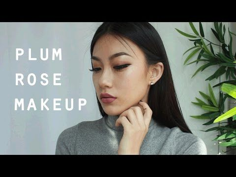 Plum Rose Makeup | Haley Kim - YouTube