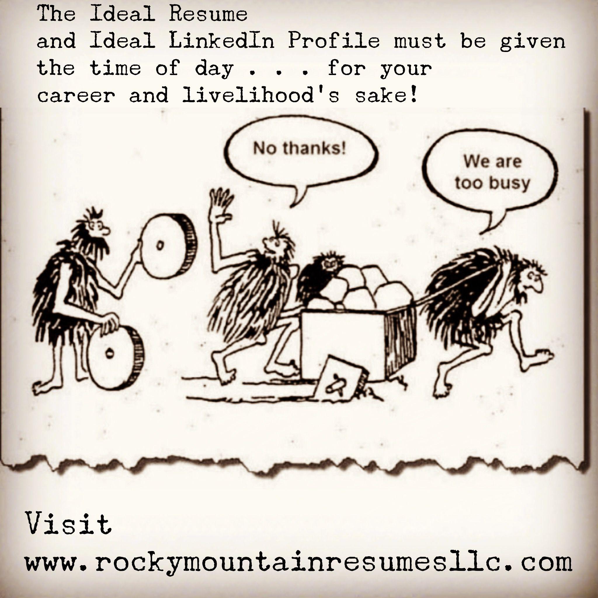 Job Career Resume Hiring Linkedin Follow Rocky Mountain Resumes