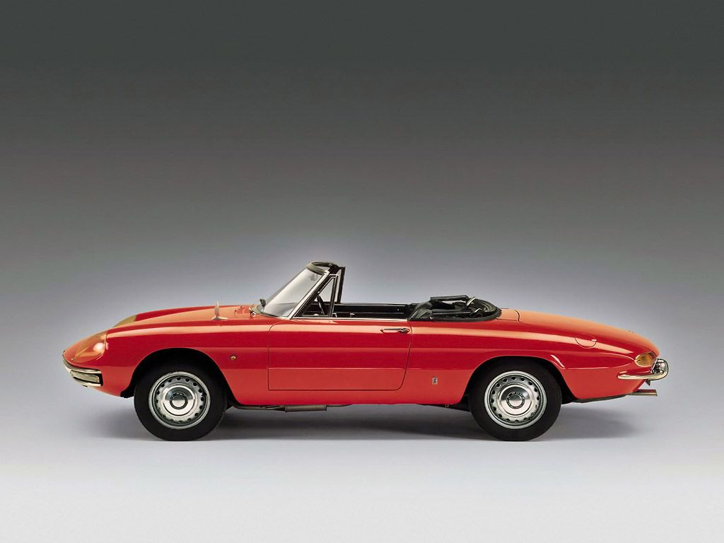 1966 Alfa Romeo Spider Duetto Just Beautiful!