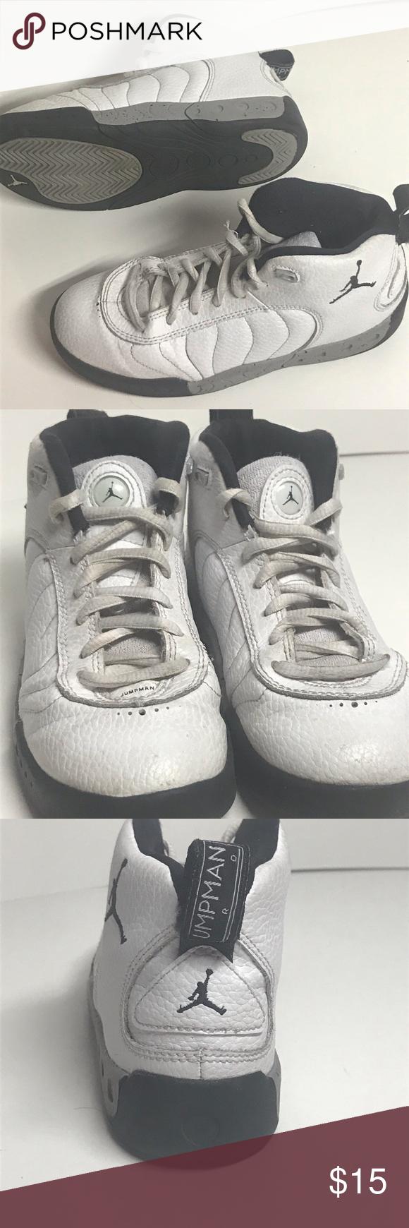 f0b3ca06e0fec0 Nike Air Jordan Jumpman Pro (PS) Shoes 909419-103 Nike Air Jordan Jumpman  Pro (PS) Shoes White Black Gray 909419-103 Jordan Shoes Sneakers