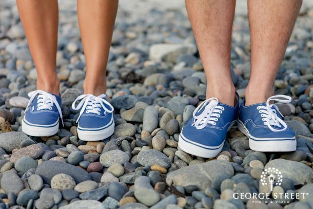Love this couple s matching Vans sneakers! Too cute! a38e514df