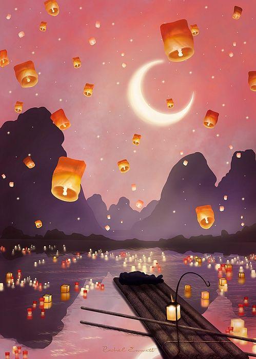 Lantern Festival  by Rachel Emmett