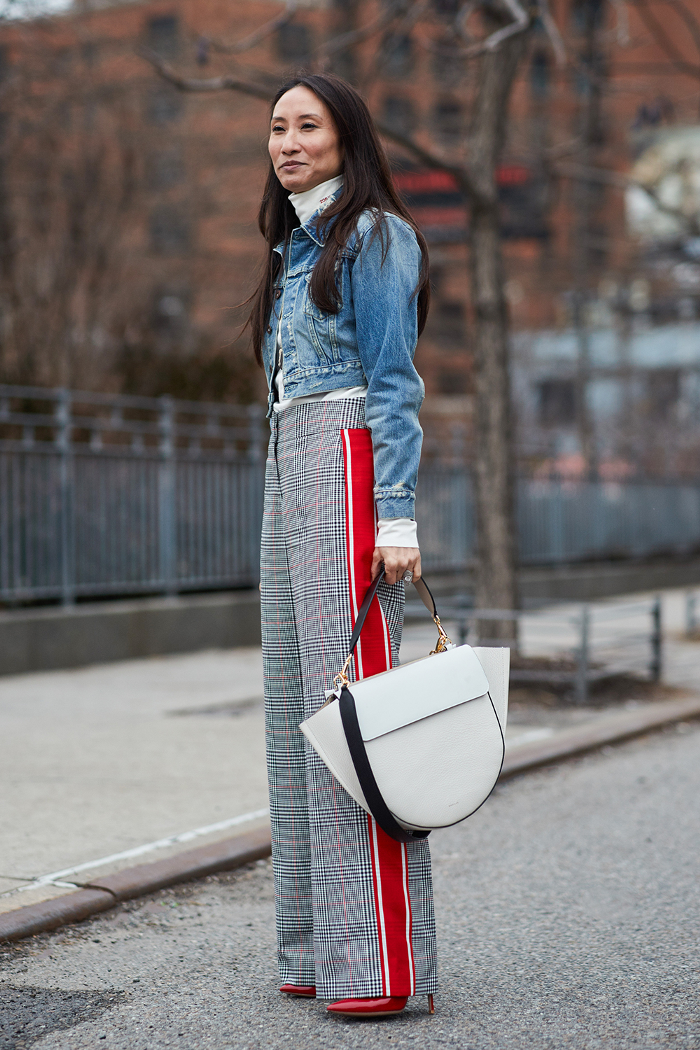 2f421e82bcaf4 The Latest Street Style From New York Fashion Week
