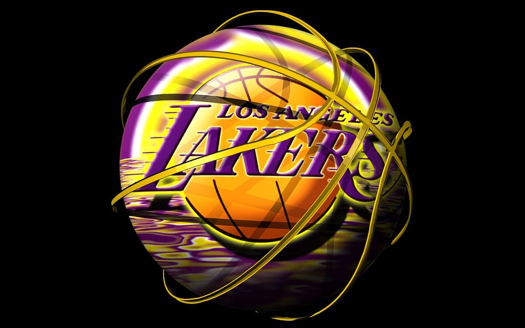 Lakers 3d Logo Wallpaper (With images) Lakers wallpaper