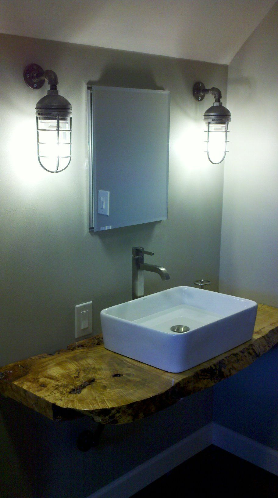 Bathroom inspiration dont love this but there is an idea here bathroom inspiration dont love this but there is an idea here aloadofball Gallery