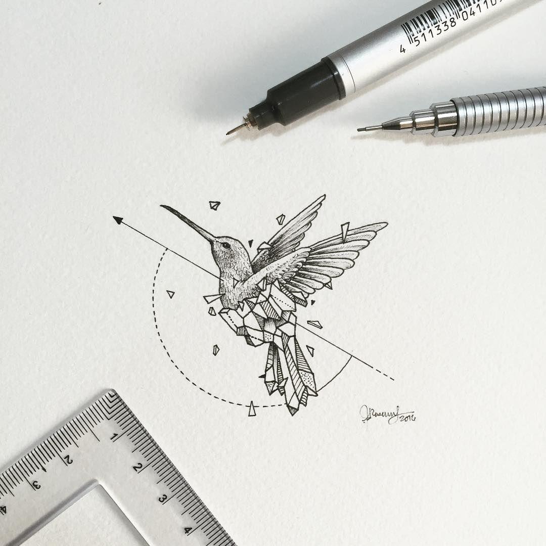 Les Animaux Geometriques De Kerby Rosanes Tatouage Tatouage