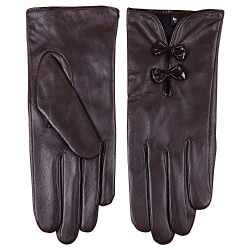 WARMEN Stylish Women Genuine Nappa Soft Leather Lined Gloves with Cute Bow Hand Bags Tips (L, Brown) WARMEN http://www.amazon.com/dp/B008OQRB1S/ref=cm_sw_r_pi_dp_EDDKub1S9V2WE