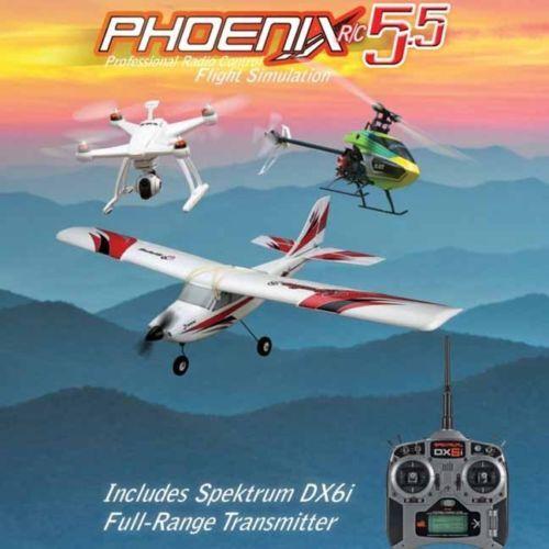 Simulators 171145: Phoenix Rc Pro Flight Simulator V5 5 With