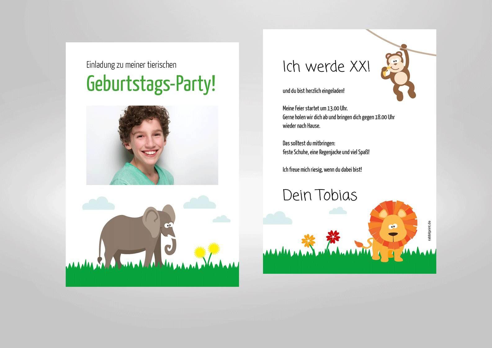 einladungskarten kindergeburtstag : einladungskarten, Einladungsentwurf