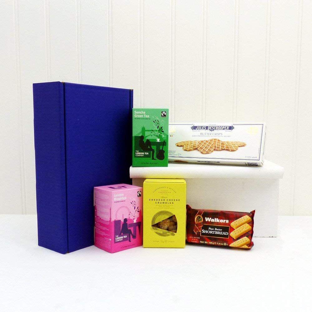 Feinkost Geschenkbox Mit Tea Und Keksen Perfektes Geschenk Zum