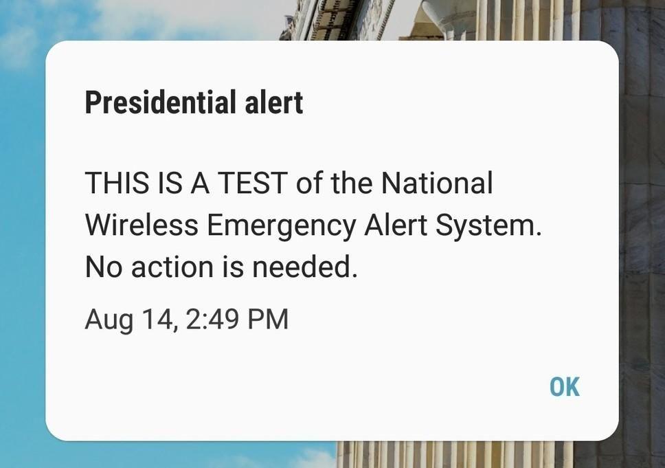 Image Result For Presidential Alert Image Emergency Alert System Presidential Emergency