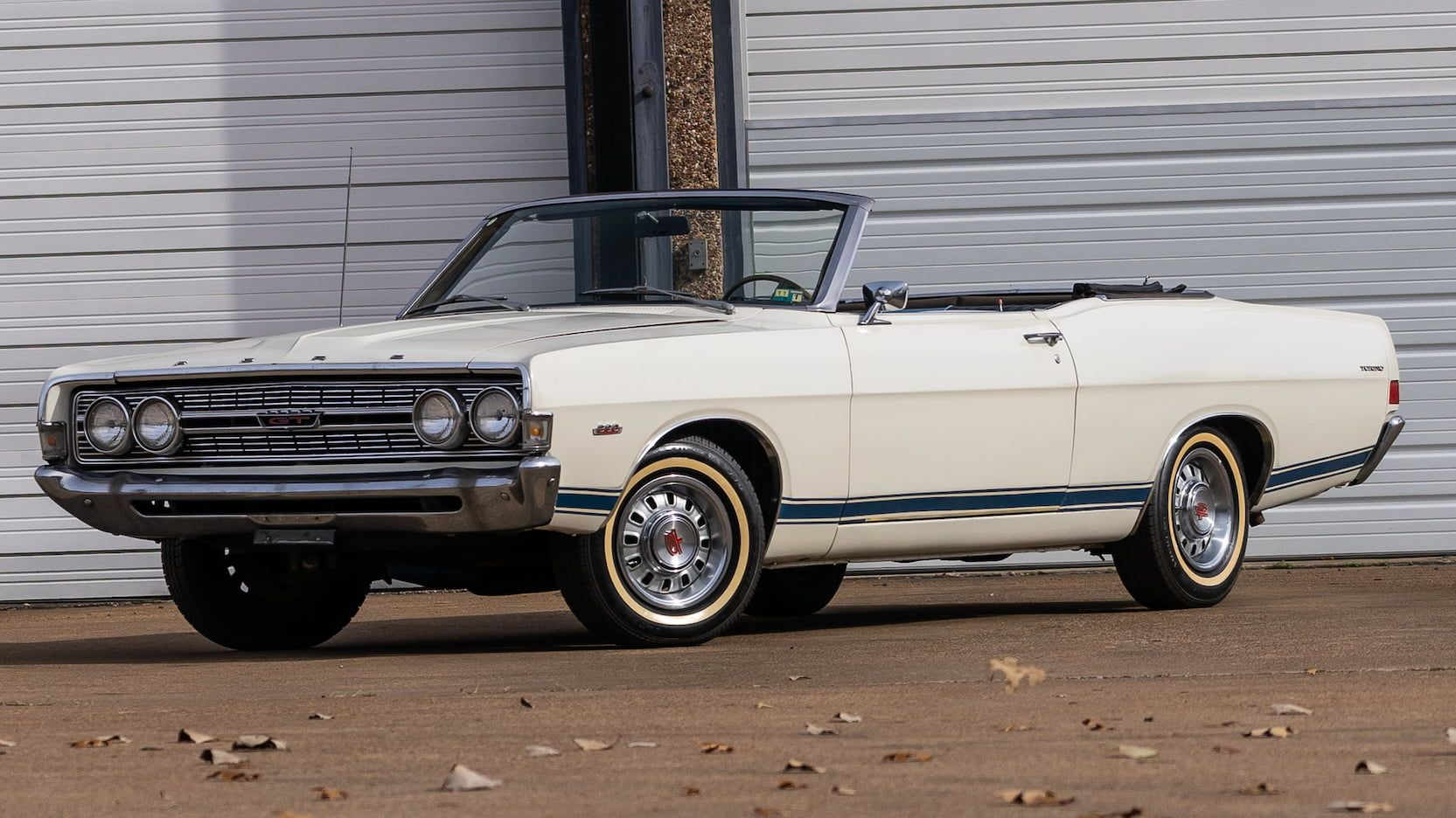 1968 Ford Torino Gt Convertible Presented As Lot G69 At
