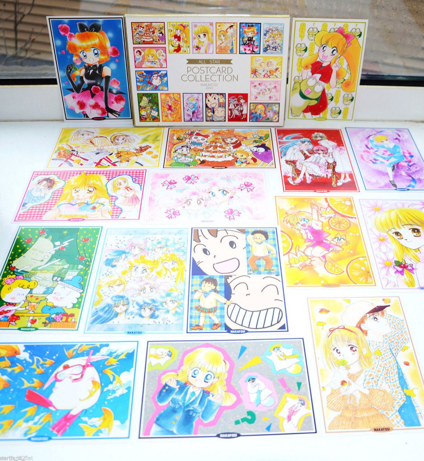 Sailor Moon Postcard Collection In