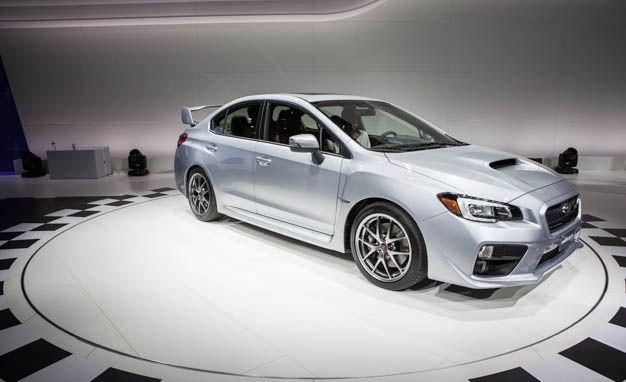 New Release Subaru WRX STI 2015 Review Rear View Model  M