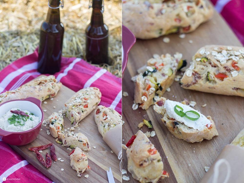 Im Sommer verzichte ich gerne mal auf das klassische Abendessen, düse noch eine Runde mit dem Fahrrad und mach dann ein Sommerpicknick. Perfekt dazu passen diese Gemüse Brotstängel! Gemüse Brotstängel fürs Sommerpicknick Das Beste an dem Rezept: Ihr könnt es immer wieder neu variieren und die Zutaten anpassen. Ich mach es zum Beispiel auch gerne …