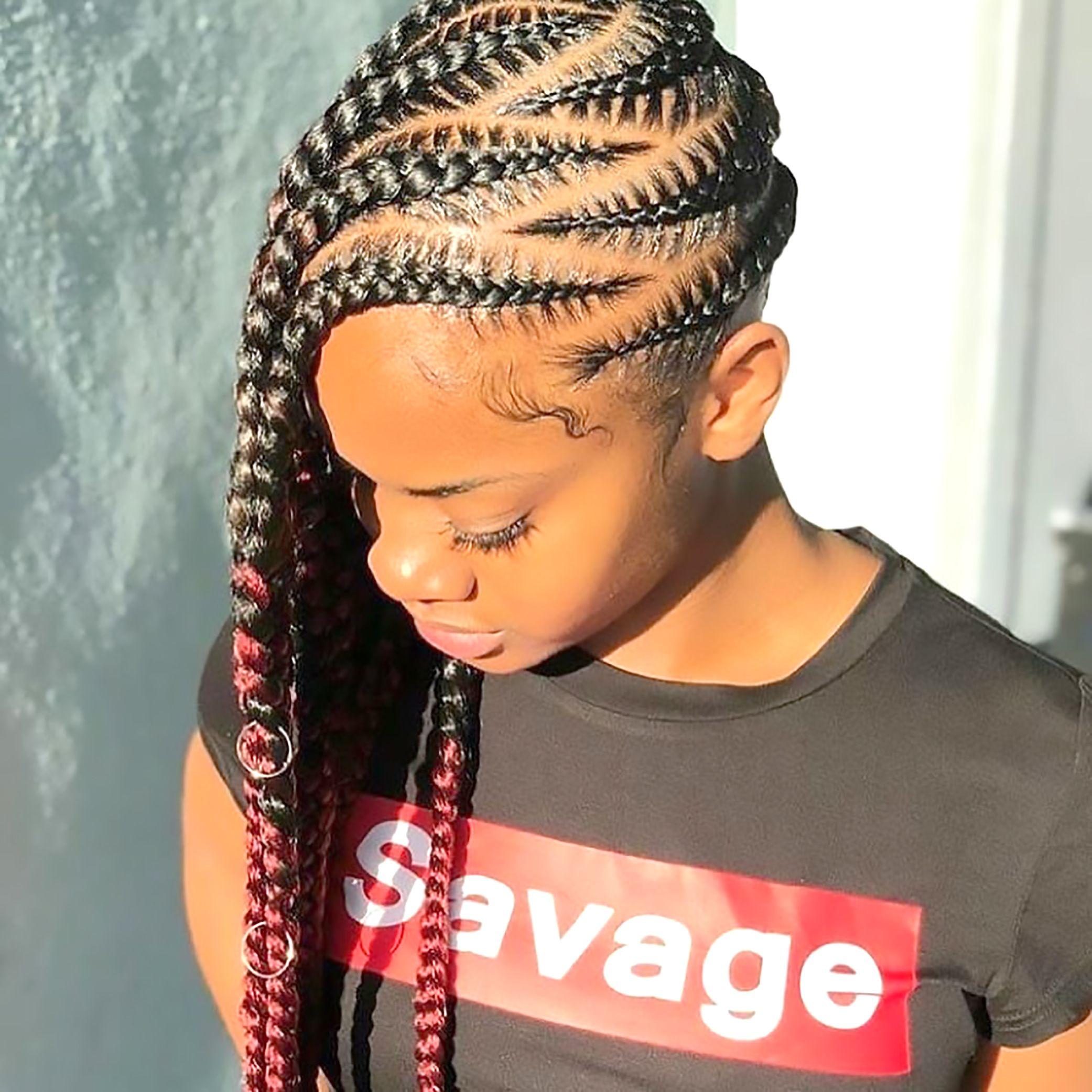 Cornrows Hairstyles For Black Women Cornrows Hairstyles White Cornrows Hairstyles For Lemonade Braids Hairstyles Braided Hairstyles Feed In Braids Hairstyles
