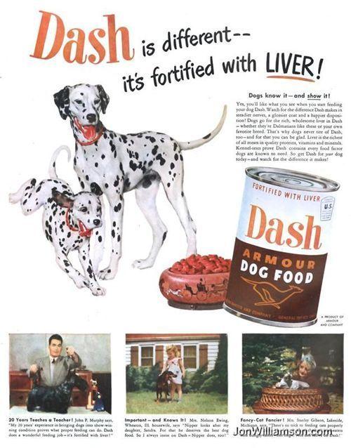 Vintage Dog Food Advertisements I Antique Online Vintage Dog