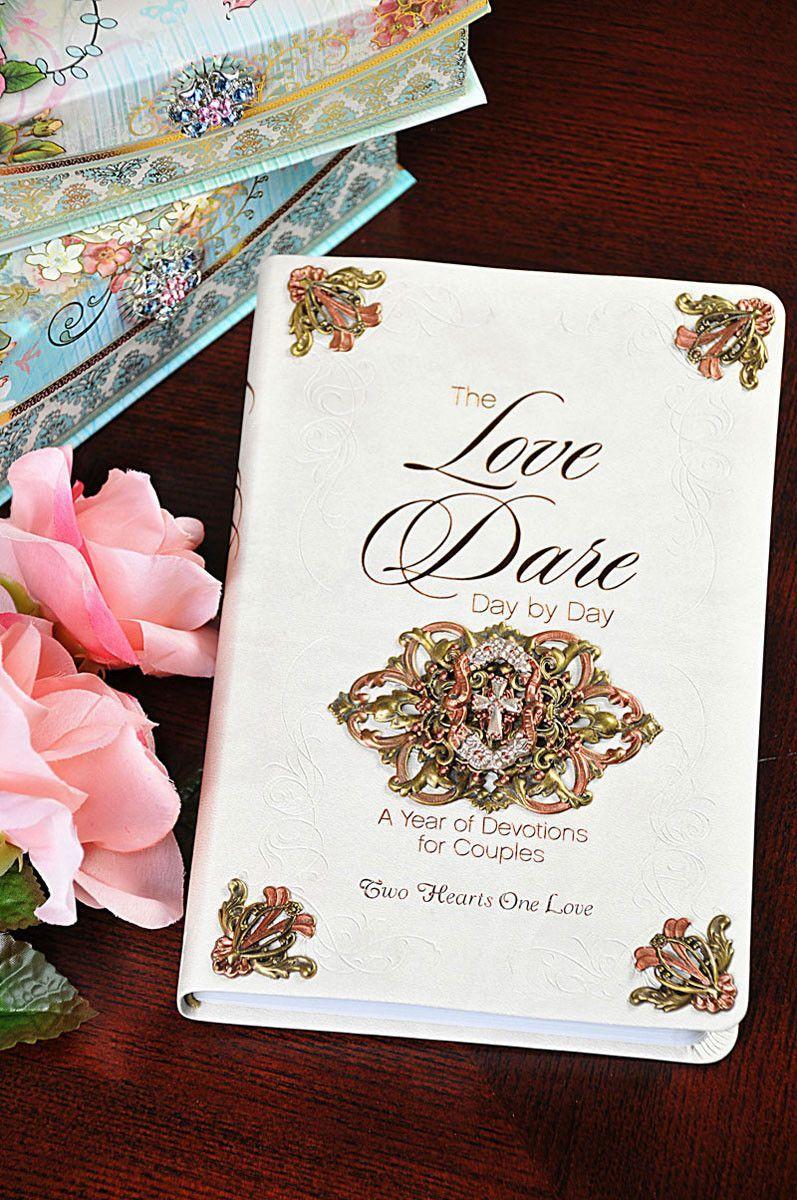 Decorated love dare devotional book wedding edition