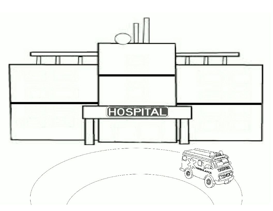 Complete The Drawing Inside The Hospital An Exercise I