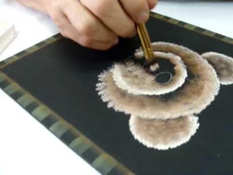 como pintar hojas en tela tutorial pintura en tela cmo pintar facil como difuminar pintura