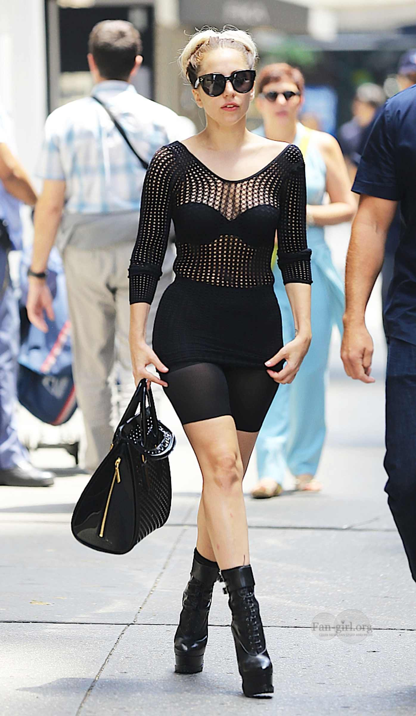 7118809a258e Lady Gaga in Stylish outfit in NYC