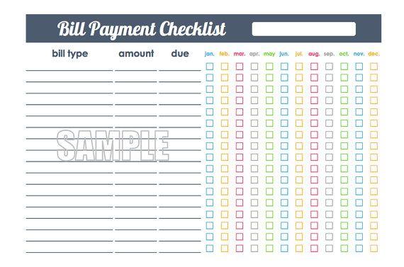 Small Money Management Set Half Letter Size by FreshandOrganized