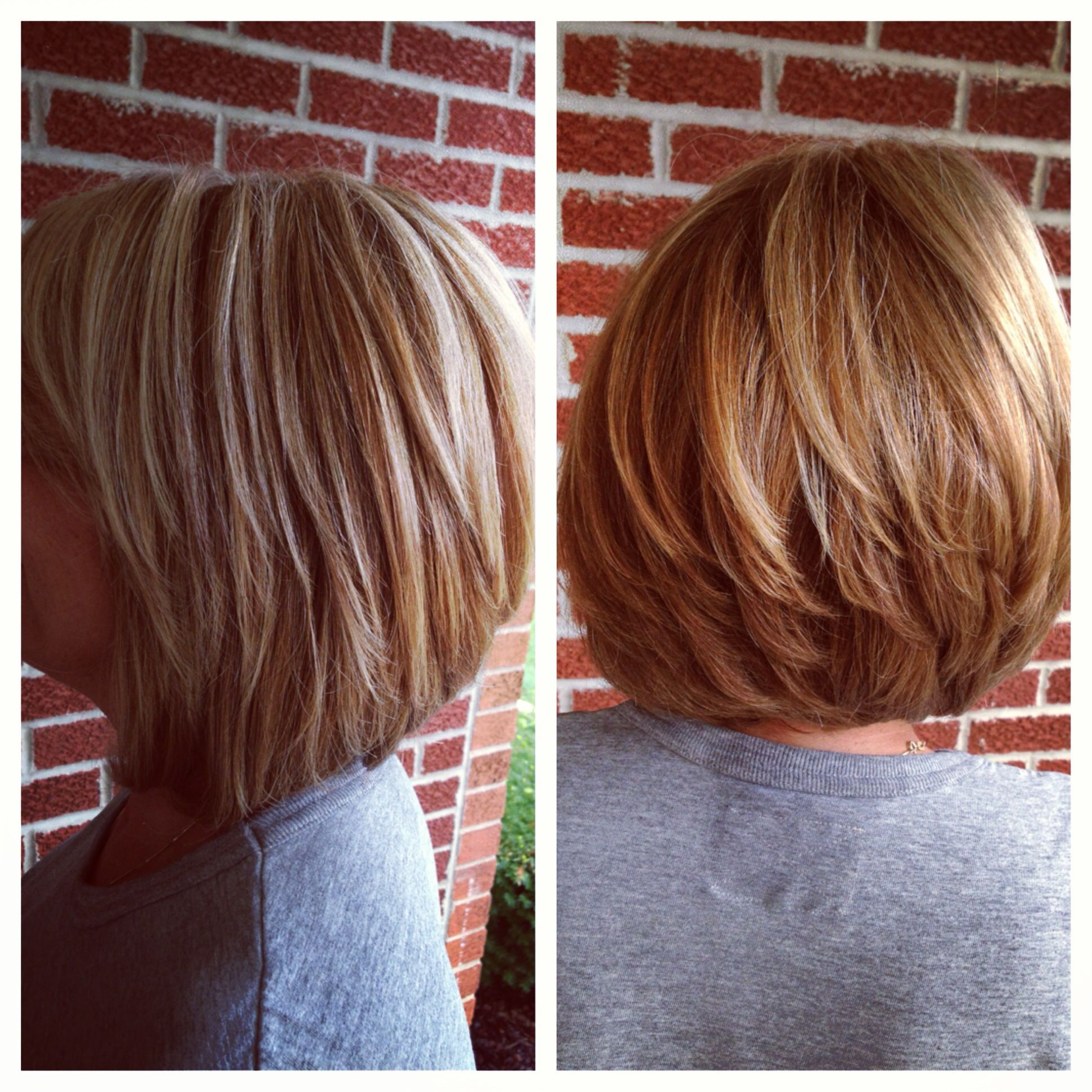 Short Cut With Hi And Low Lights Hairbyjulia In 2018 Pinterest