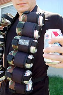 Man Gear The Hops Holder Beer Holster Bandolier Beer