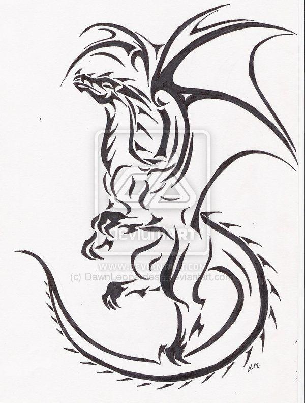 Photo of Hochfliegendes Drachentattoo von DawnLeopardess auf DeviantArt –  Drachentätowi…
