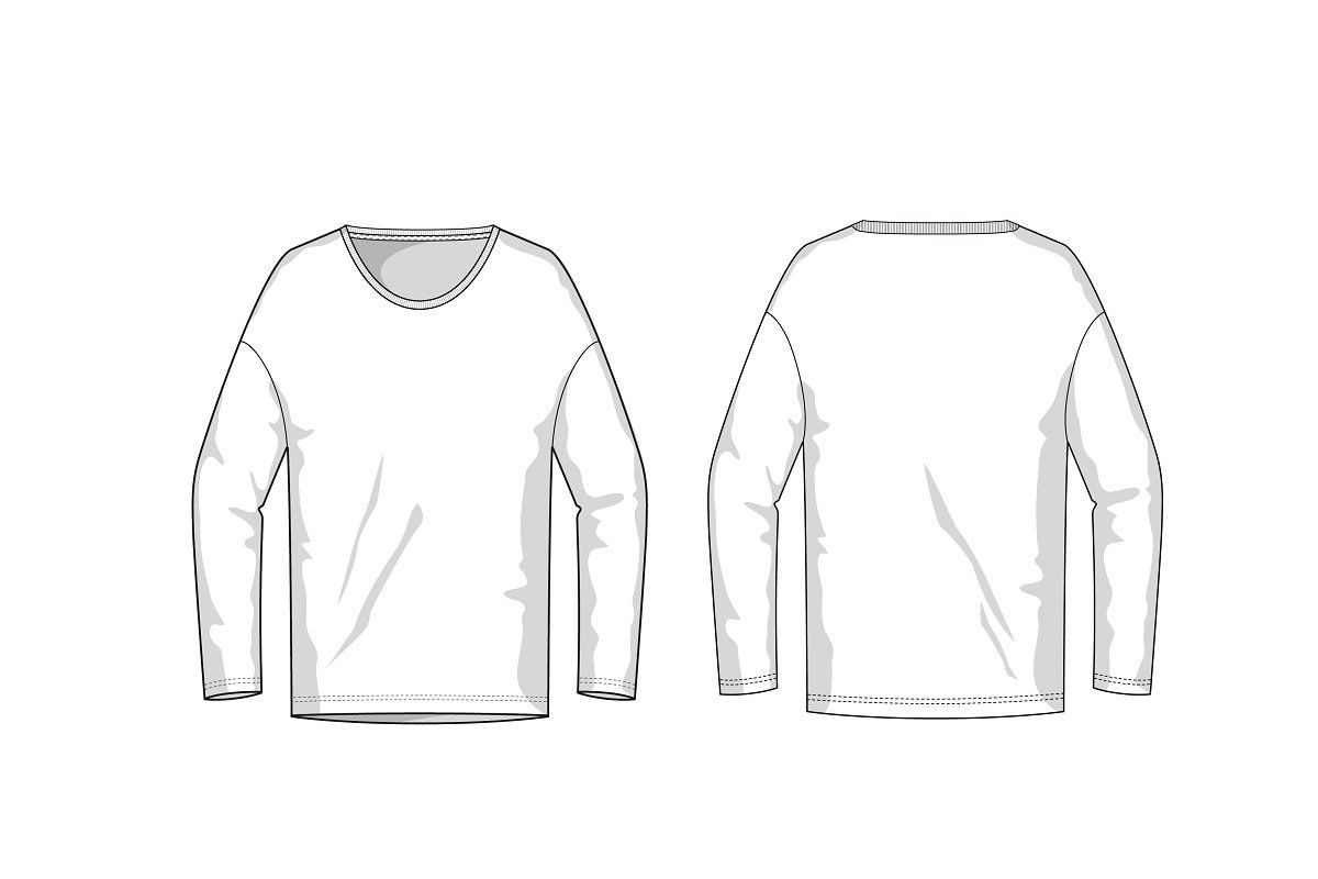 Longsleeve Fashion Flat Template Bomber Jacket Fashion Fashion Flats Longsleeve Men [ 800 x 1200 Pixel ]
