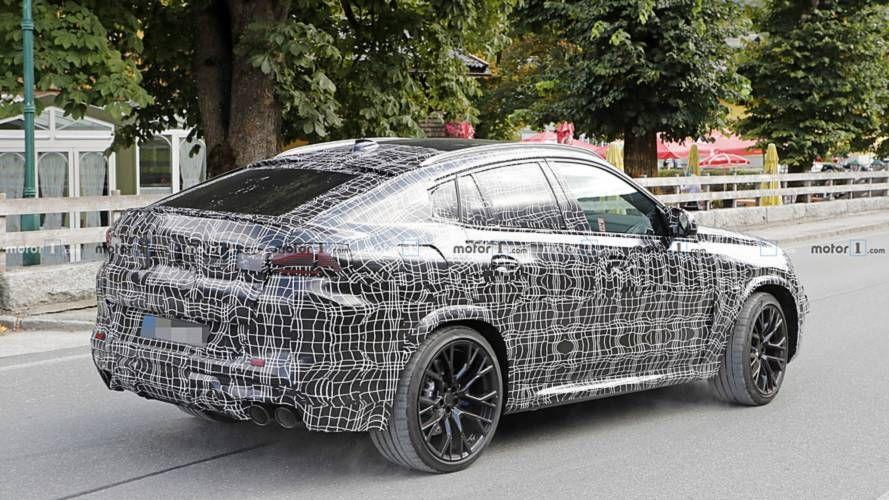 New Bmw X6 M Looks Menacing In First Spy Shots Bmw X6 Bmw New Bmw